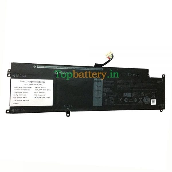 Original new laptop battery for DELL Latitude 13 E7370