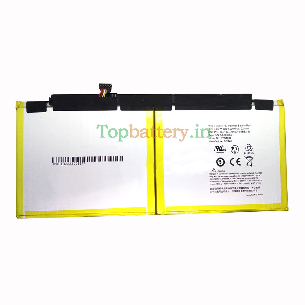 Original new Tablet battery for Amazon kindle Fire HDX 40.40