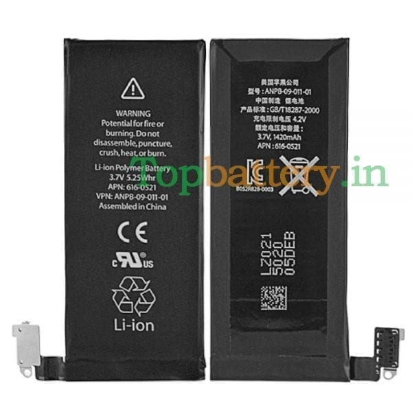 Original new battery 616-0521 for iphone 4