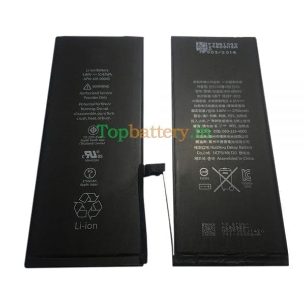 Original new battery 616-00045 for iphone 6s plus