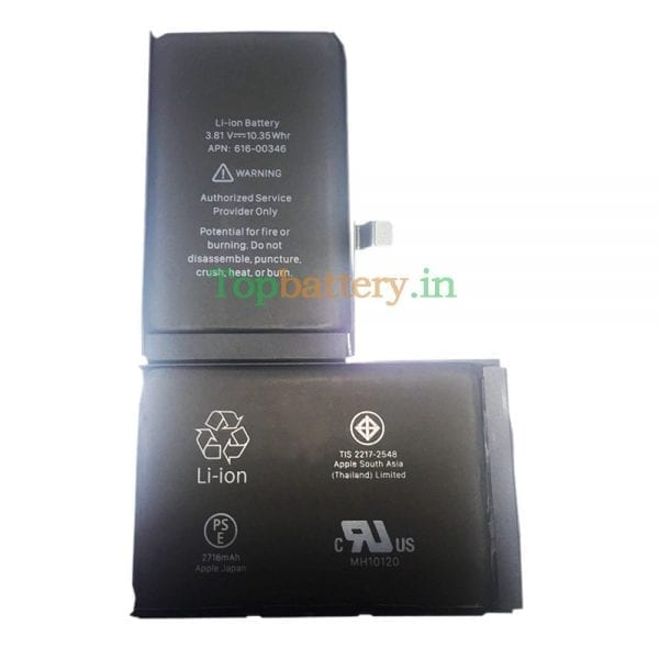 Original new battery 616-00346,616-00347 for iphoneX