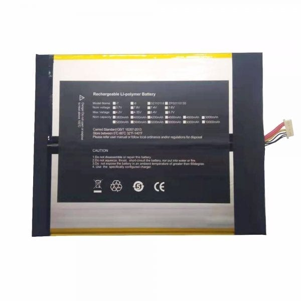 Original new tablet battery for CHUWI 2877164-2s,CHUWI lapbook SE